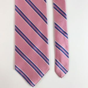 Brooks Brothers Accessories - 346 Brooks Brothers All Silk Pink/Blue Tie